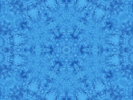concentric: Background with concentric abstract ice pattern