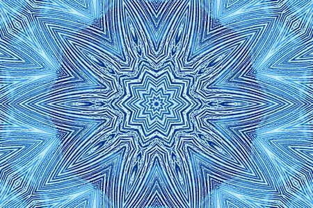 concentric: Blue background with abstract concentric pattern