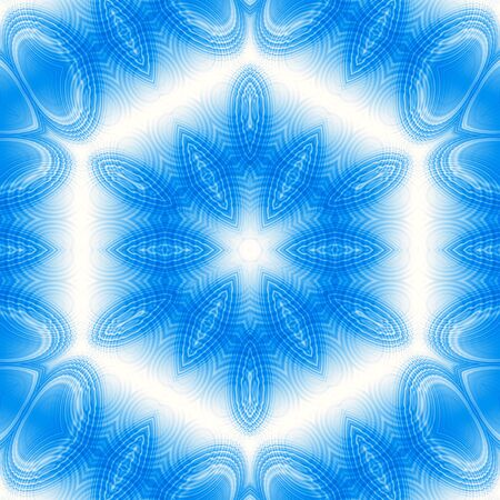concentric: Abstract blue background with concentric pattern Stock Photo