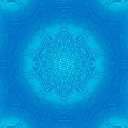 ripple: Abstract blue background with concentric ripple pattern Stock Photo