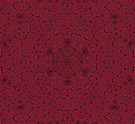 crossing tangle: Abstract background with red concentric pattern