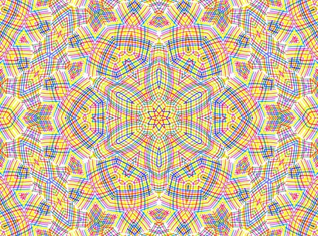 concentric: Abstract background with color lines concentric pattern