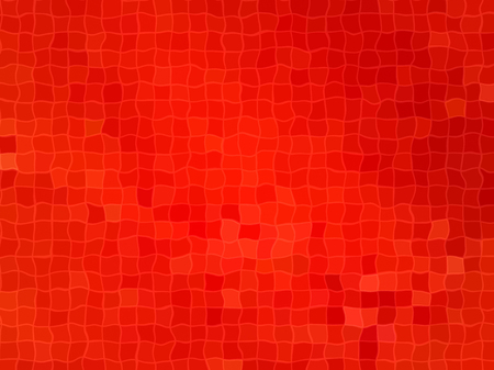 vermeil: Bright red wavy cell background Stock Photo