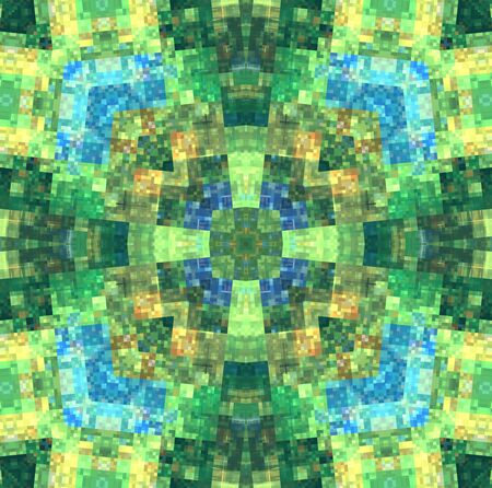 motley: Abstract bright motley concentric pattern