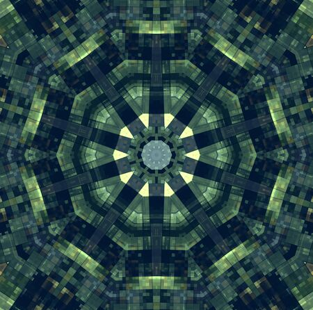 motley: Background with abstract motley concentric pattern
