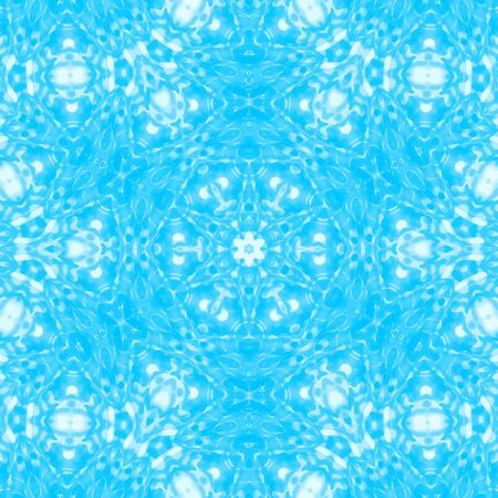 Blue abstract background with concentric pattern Illustration