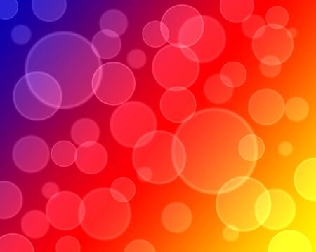 defocus: Abstract colorful background with bokeh pattern