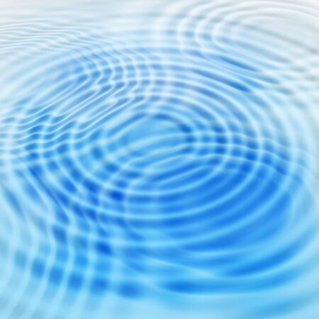 water: Abstract blue background with round water ripples