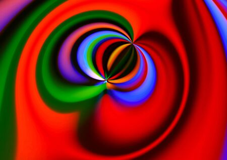 Bright colorful abstract swirl background Stock Photo
