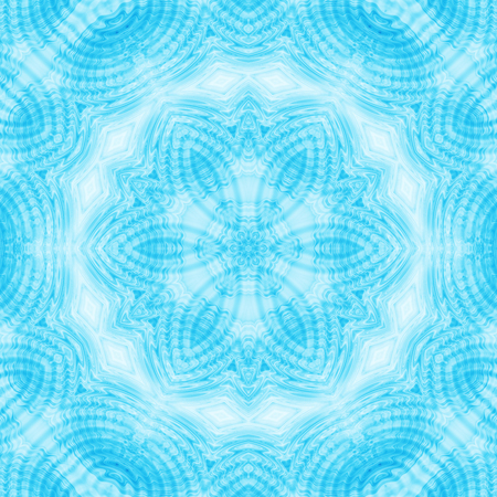 Background with bllue abstract concentric pattern