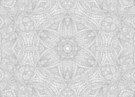 Black and white graphics with abstract outline pattern 版權商用圖片