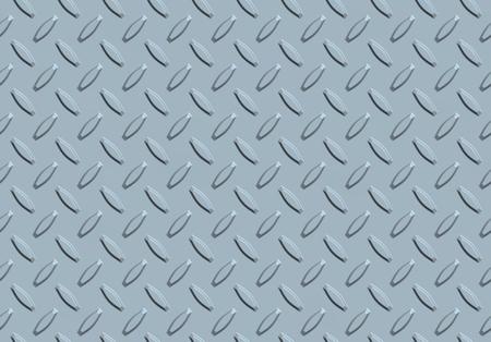 Illustration of metallic background with seamless diamond pattern