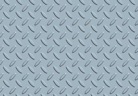 Illustration of metallic background with seamless diamond pattern