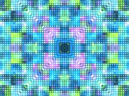 Bright motley background with mosaic pattern