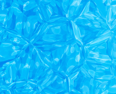 Blue bright background with abstract pattern