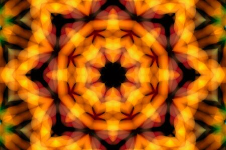 Bright abstract soft focus concentric pattern