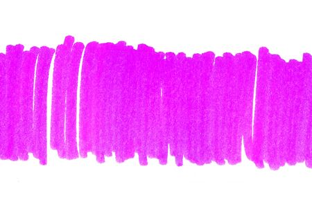 Abstract bright purple hand drawn texture on white background for design