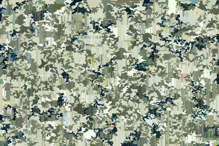 Abstract background with camouflage pattern Standard-Bild