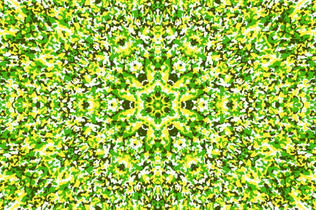 Abstract background with camouflage concentric pattern