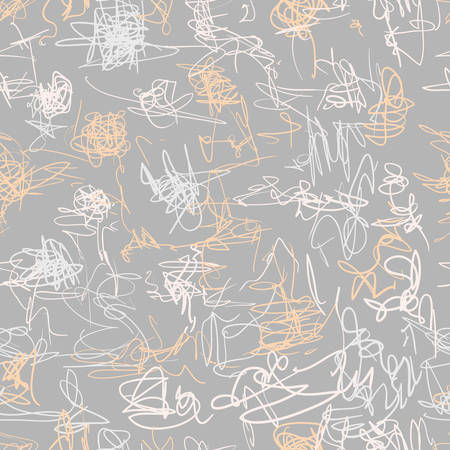 Seamless vector pattern. Scrapbooking, background, wrapping paper.