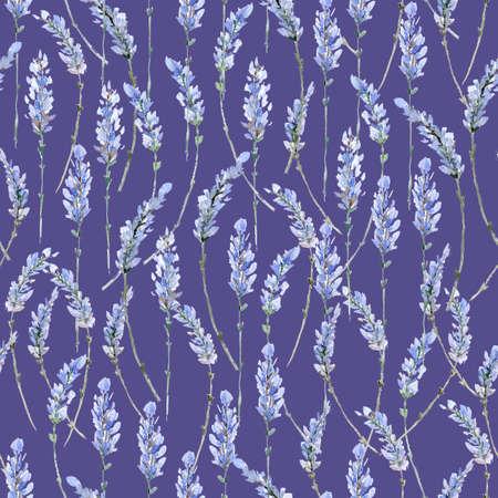 Aquarelle illustration réaliste . seamless floral. sorcière Banque d'images - 97183463