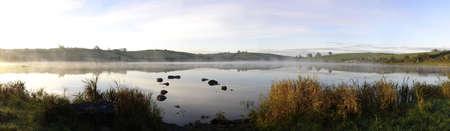 Misty Irish Sunrise on Irish Kernan Lake