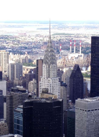 Midtown Manhattan and the Chrylser Building