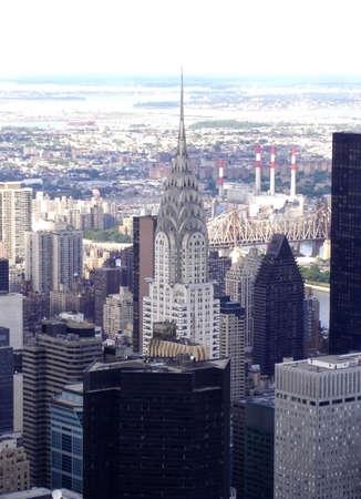 Midtown Manhattan and the Chrylser Building