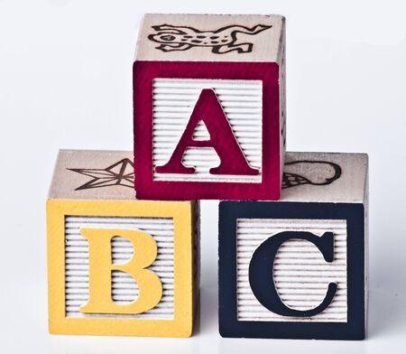 abcd: Wooden ABC Blocks