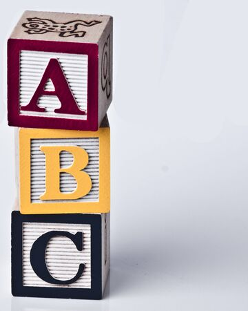 Wooden ABC Blocks photo