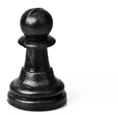 pawn: Pawn Black Chess piece Stock Photo