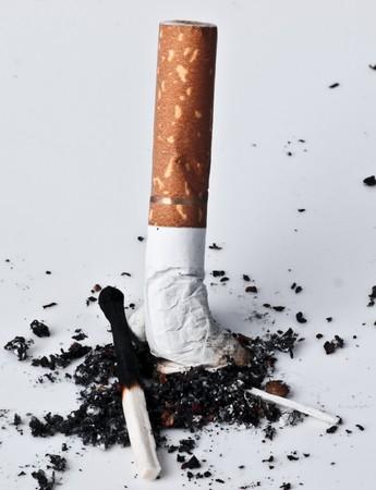 burnt: Burnt Cigarette Stock Photo