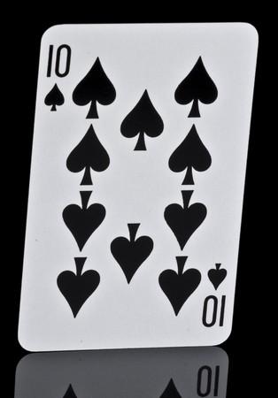 Ten Of Spades Stock Photo - 7042872