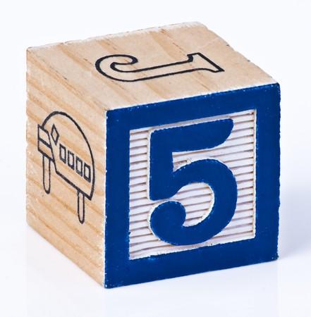 Building Block Numer Sfive photo