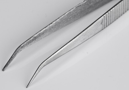 Tweezers Isolated  photo