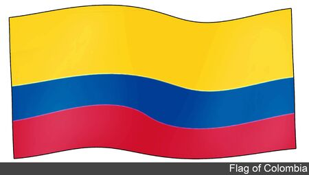 flying flag: Flying Flag of Colombia