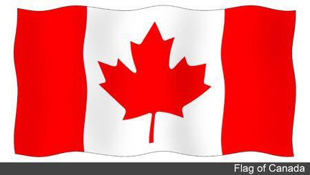 flying flag: Flying Flag of Canada