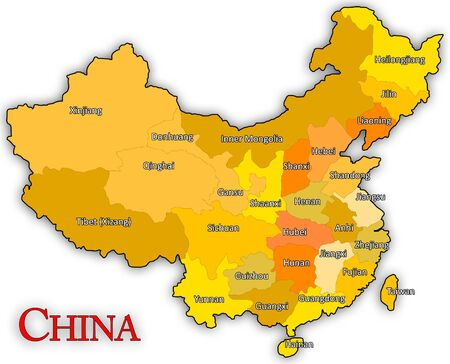 state boundary: China Map