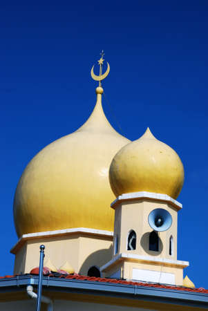 beautiful mosque image at perak, malaysian #