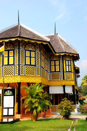 traditional house at perak, malaysian # # 免版税图像 - 1365783