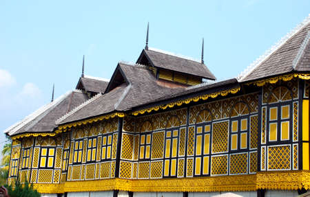 traditional house: traditional house at perak, malaysian # #