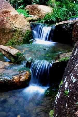 beautiful waterfalls mage at pahang, malaysian #