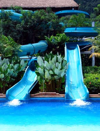 beautiful swimming pool image at pahang, malaysian # Stock Photo