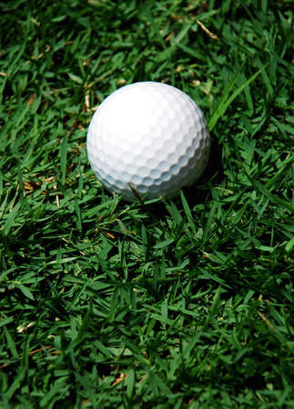 smart golf ball image on the wgite background