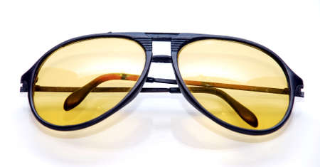 glases: smart sun glases image on the white background