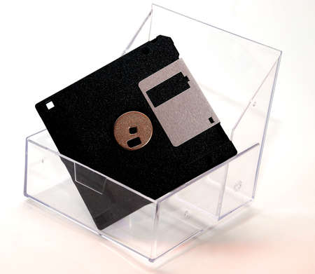 diskette: smart diskette  image on the white background