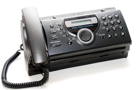 smart Schwerpunkt Faxgerät ein Bild auf dem weißen Hintergrund  Standard-Bild