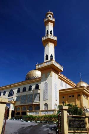 god box: mosque image at penang, malaysian