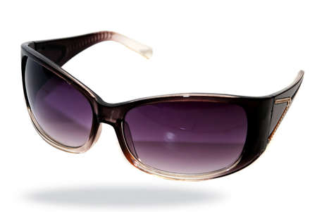 glases: sun glases image on the white background Stock Photo