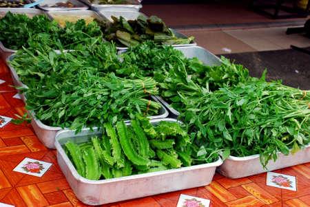 assemblage: vegetables
